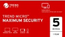 Trend Micro Security Suite Digital Download - 1 Year for 5 Devices