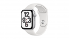 Apple Watch SE 40mm Silver Aluminium Case with White Sports Band - GPS