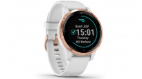 Garmin Vivoactive 4S Smart Watch - Rose Gold with White Band
