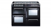 Belling 1100mm Richmond Dual Fuel Range Freestanding Oven - Black