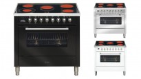 ILVE 900mm Ceramic Electric Freestanding Cooker