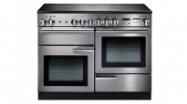 Falcon Professional 1100mm Chrome Fitting Freestanding Induction Cooker - Stainless Steel