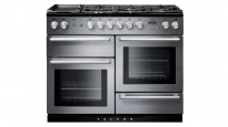 Falcon Nexus 1100mm Chrome Fitting Dual Fuel Freestanding Cooker - Stainless Steel