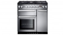 Falcon Nexus 900mm Chrome Fitting Dual Fuel Freestanding Cooker - Stainless Steel