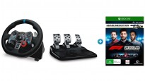 Logitech Driving Force Steering Wheel Bundle with F1 2018 - Xbox One