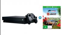 Xbox One X 1TB Console + Forza Horizon 4 + Lego Speed Champions Token Bundle