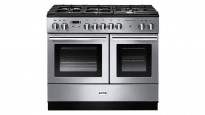 Falcon Professional+ FX 1000mm Dual Fuel Freestanding Cooker - Stainless Steel and Chrome