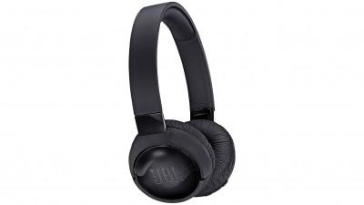 JBL T600BTNC Wireless On-Ear Headphones - Black b51b1c6fdc63