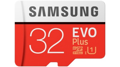 01ca3a11630 Samsung Evo Plus 32GB Micro SDHC Memory Card with SD Adapter