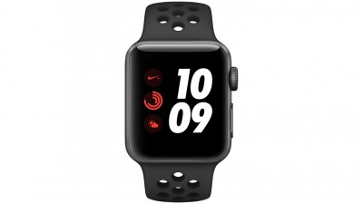 480980a8b Apple Watch Nike Series 3 - 38mm Space Grey Aluminium Case with  AnthraciteBlack Nike Sport Band