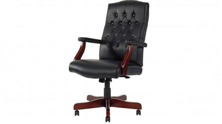 durable pvc home office chair. CFO Black Office Chair Durable Pvc Home R