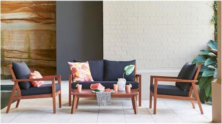 Jackson Outdoor 4-Piece Lounge Setting