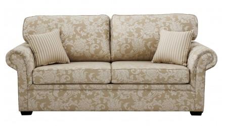 Paris Fabric Double Sofa Bed