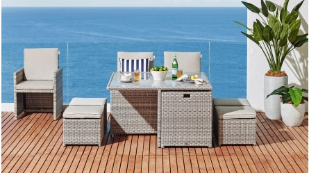Outdoor Dining Furniture Set Tables Chairs Harvey Norman