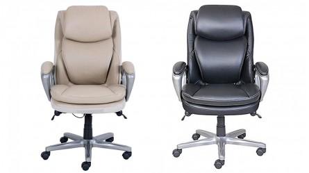Office Chair Ergonomic Leather Executive Harvey Norman