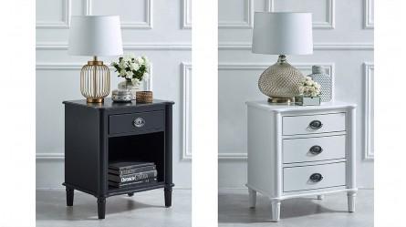 Bedroom Storage - Bedside Tables, Wardrobes, Dressing Tables