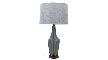 Table lamps floor lamps bedside table lamps bedroom lighting cali table lamp grey aloadofball Choice Image