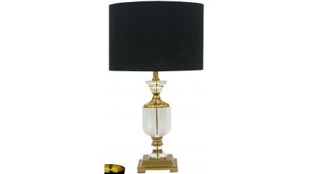 Table lamps floor lamps bedside lamps reading lamps carmen black crystal table lamp aloadofball Choice Image