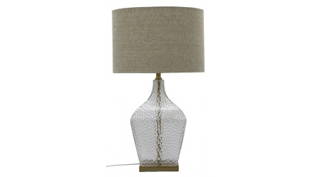 Table lamps floor lamps bedside lamps reading lamps shimmer glass table lamp gold aloadofball Images