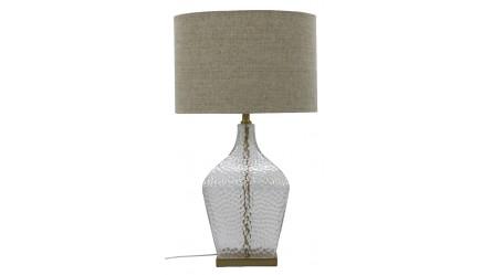 Shimmer Glass Table Lamp Gold