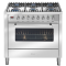 ILVE 900mm Freestanding Gas Oven - Stainless Steel thumbnail