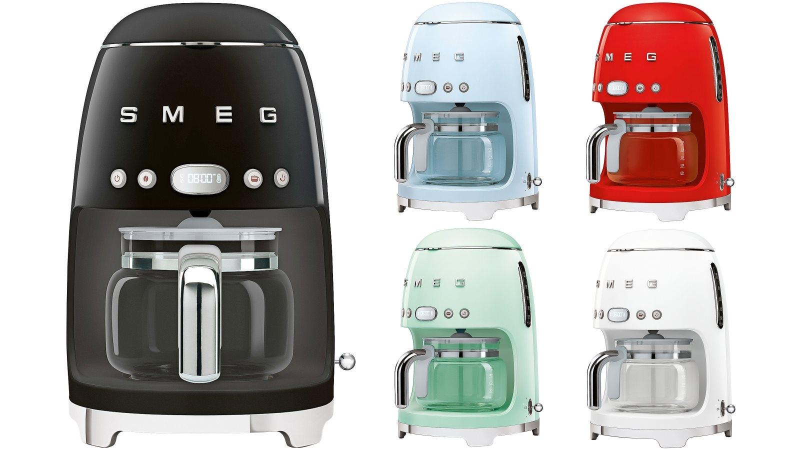 Image of Smeg 50's Retro Style Aesthetic Drip Filter Coffee Machine