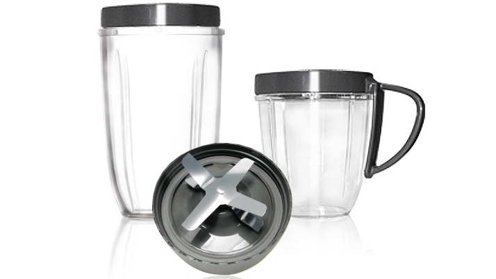 Image of NutriBullet 600W and 900W Deluxe 5-Piece Upgrade Kit