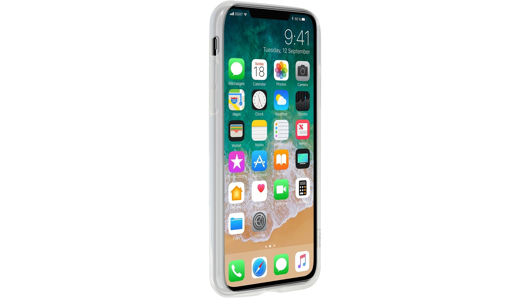 the best attitude 26117 e8be8 3SIXT Jelly Case for iPhone X - Clear