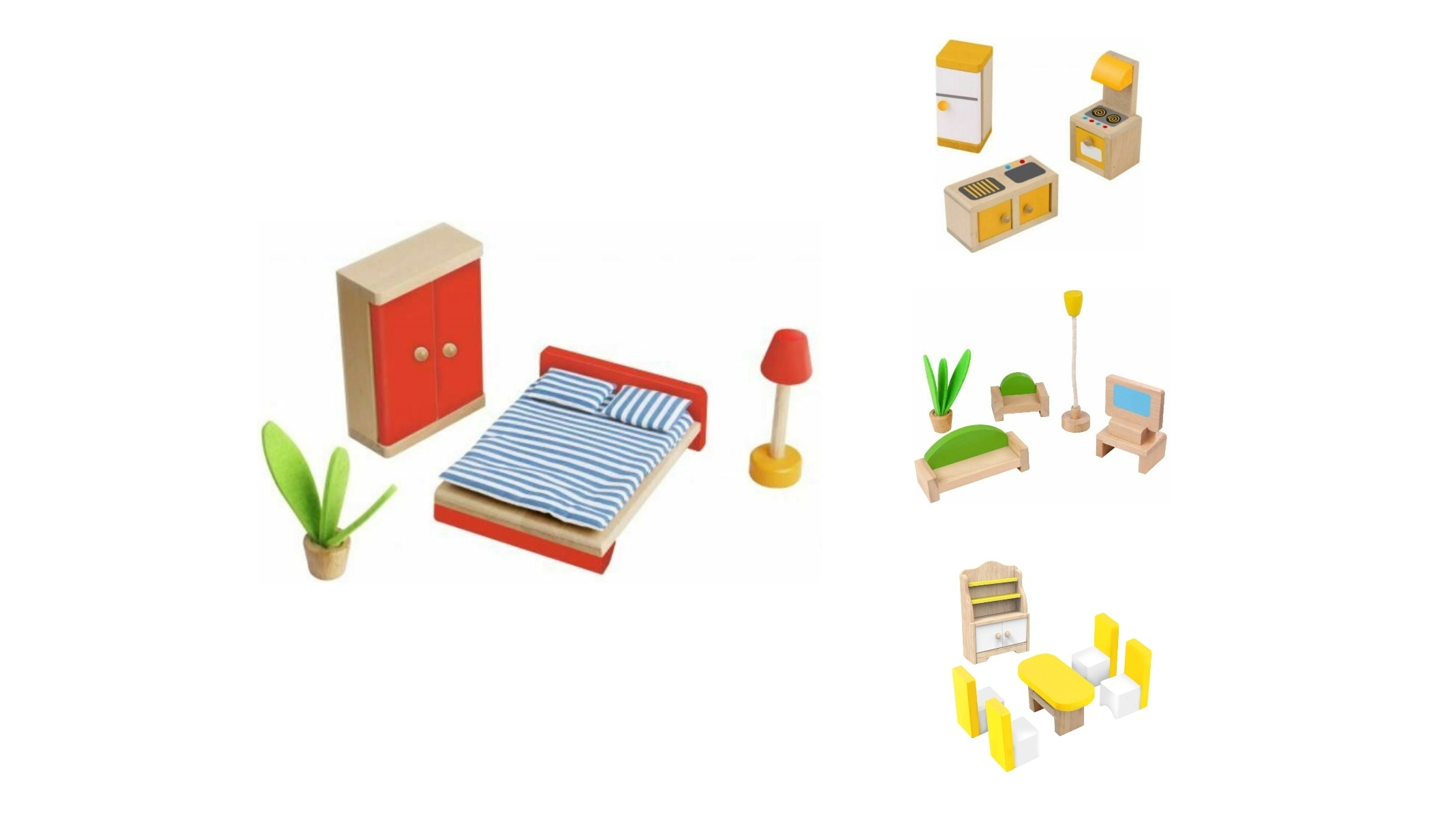 Image of Tooky Toy Mini Furniture