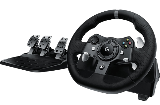 Image of Logitech G920 Driving Force Racing Wheel - Xbox One, Pc
