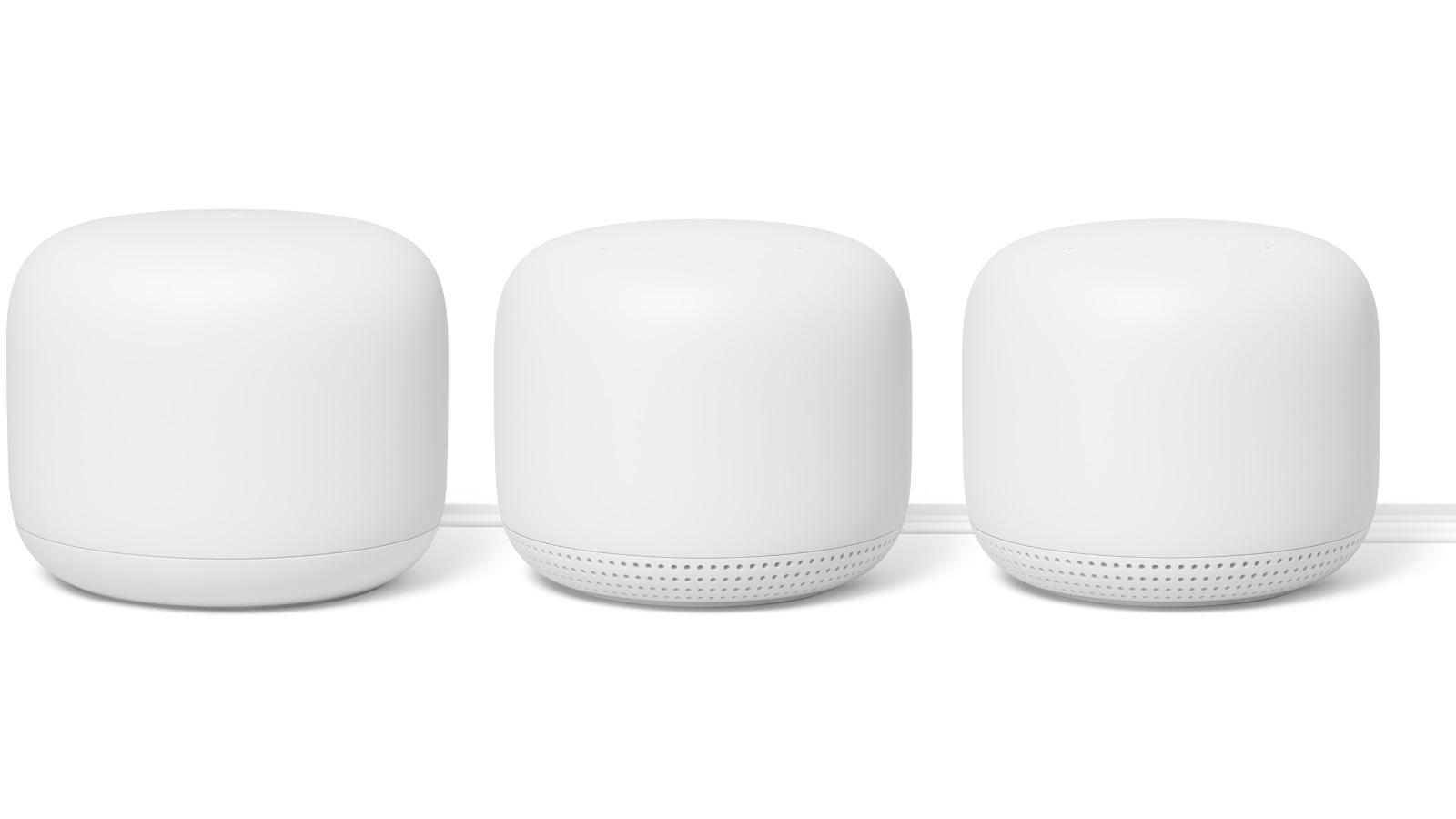 Buy Google Nest WiFi Mesh Router 3 Pack | Harvey Norman AU