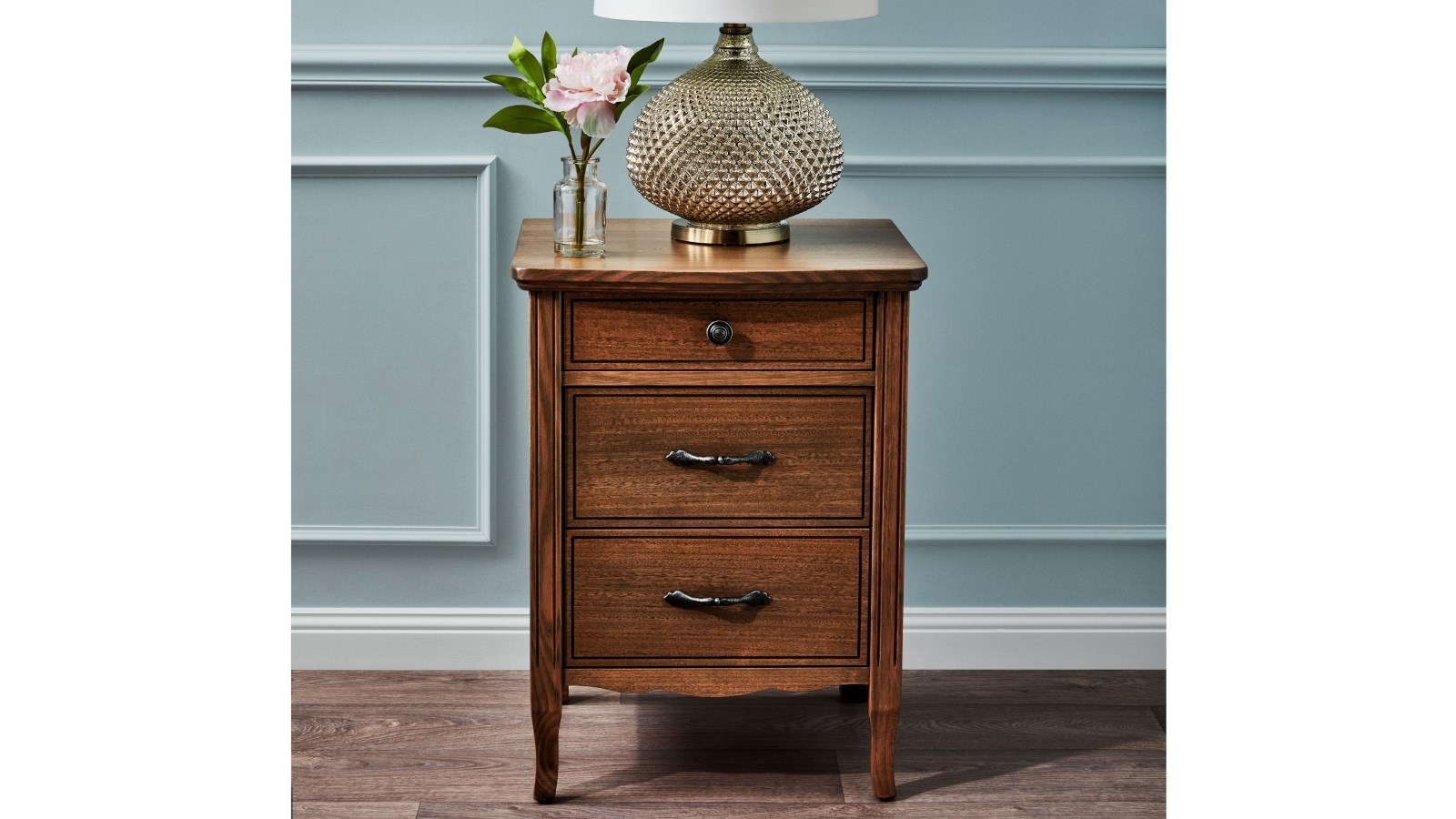 Buy Genevieve Bedside Table  Harvey Norman AU