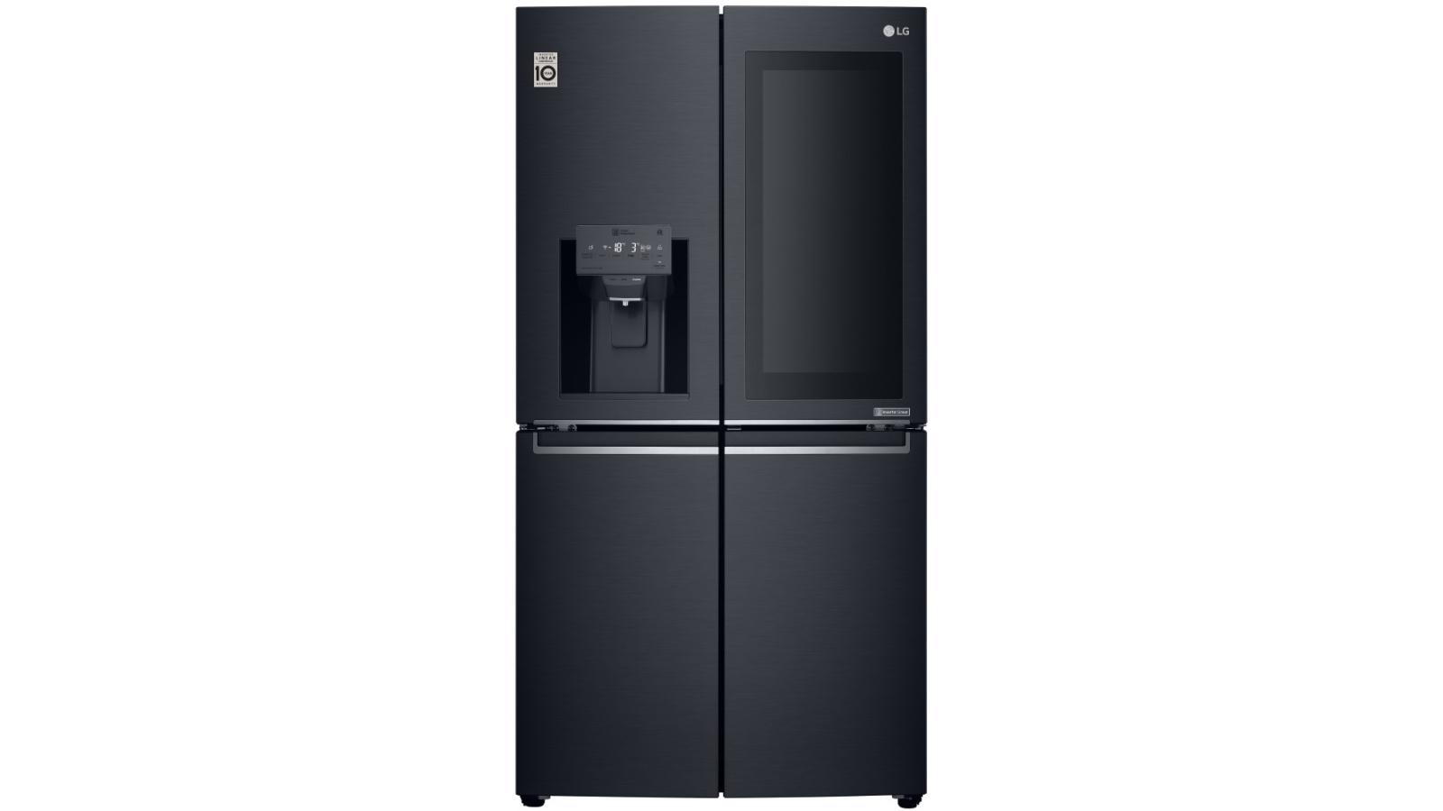 Best Top Freezer Refrigerators 2020.Lg 708l Instaview Door In Door French Door Fridge Matte Black