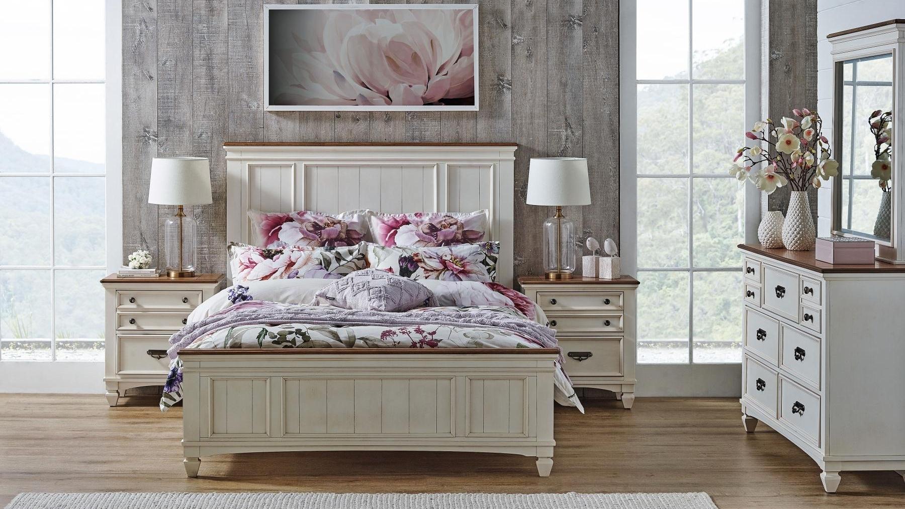 Buy Farmhouse Bed Harvey Norman Au