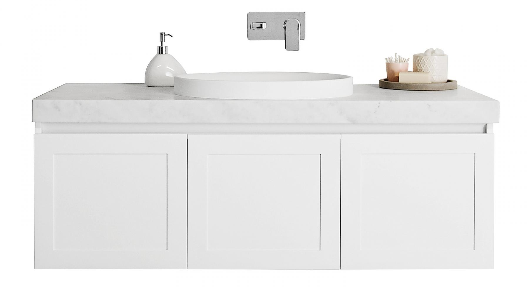 Buy ADP Hampton 1200mm Wall Hung Vanity with Basin | Harvey Norman AU