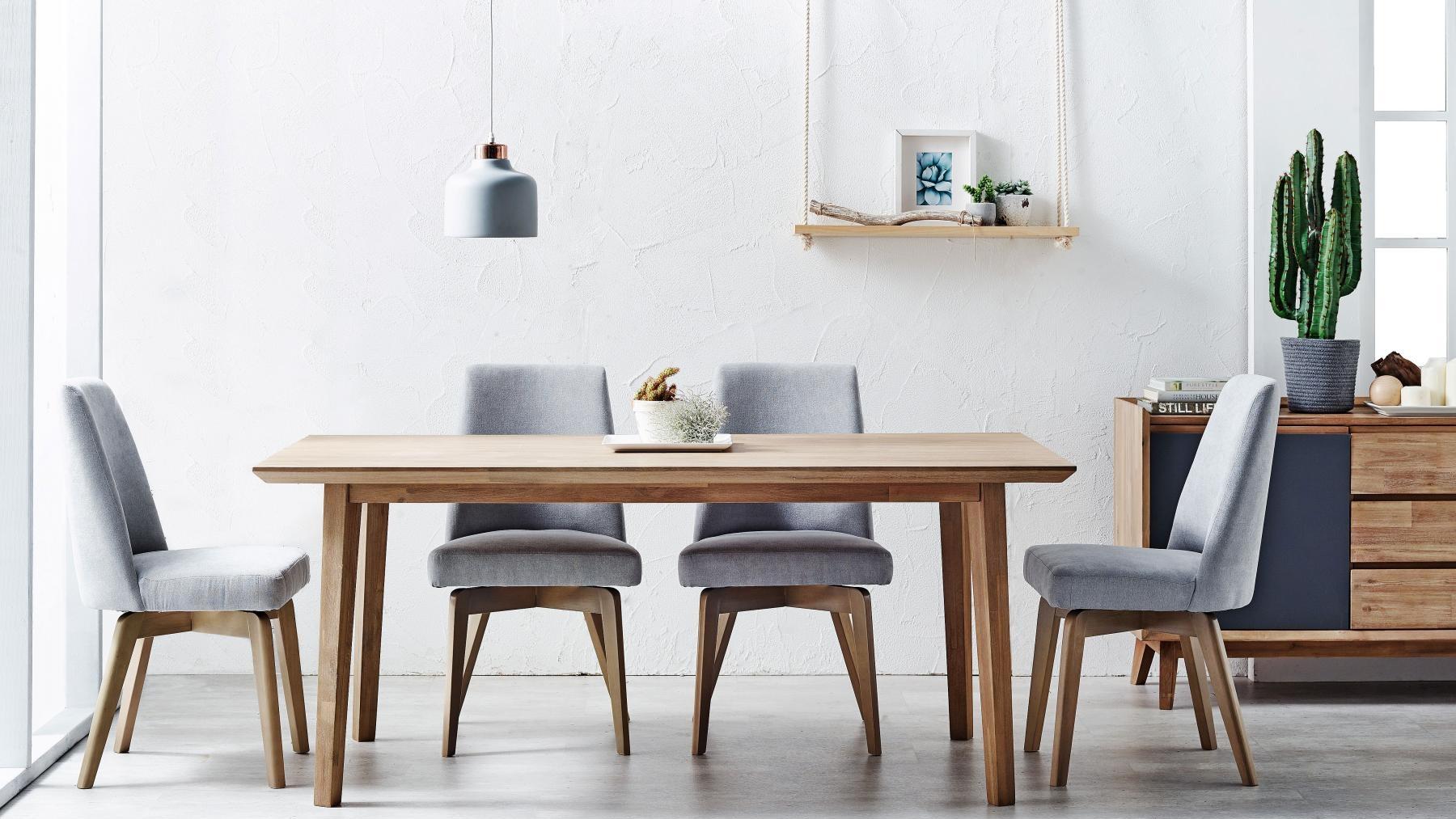Buy Tempo 9 Piece Rectangular Dining Setting   Harvey Norman AU