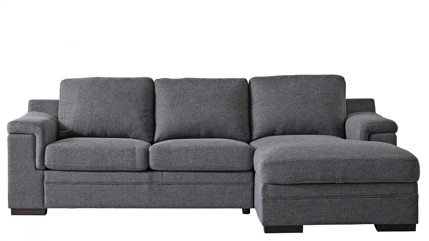 Buy Santiago Fabric Sofa Bed with Chaise | Harvey Norman AU