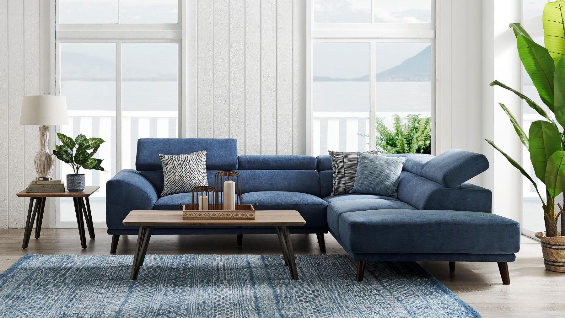 Buy Urban Fabric Corner Sofa | Harvey Norman AU