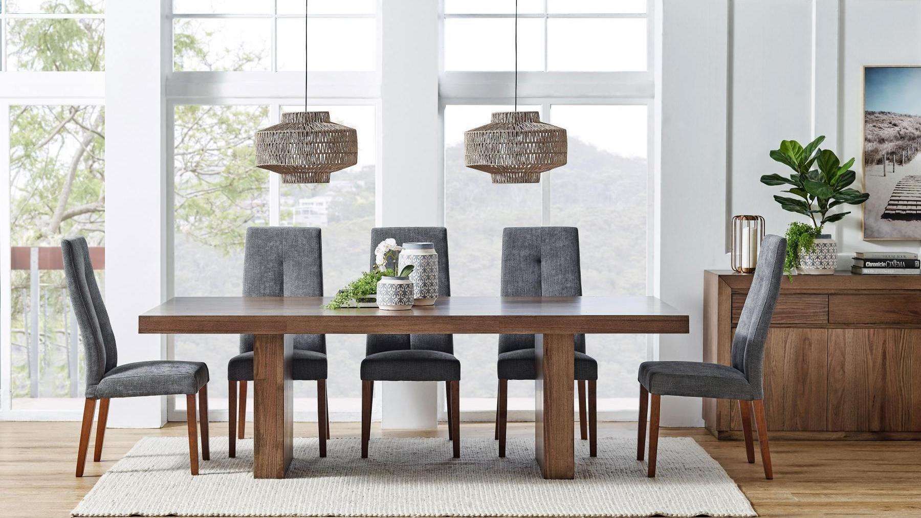 buy launceston 9-piece dining setting | harvey norman au
