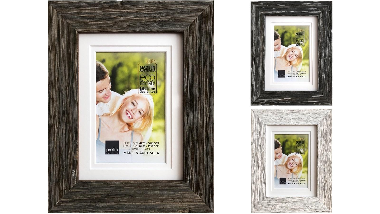 Image of Platinum Hamptons 25x30cm/15x20cm Photo Frame