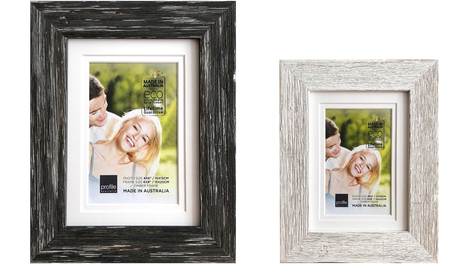 Image of Platinum Hamptons 40x50cm/28x35cm Photo Frame