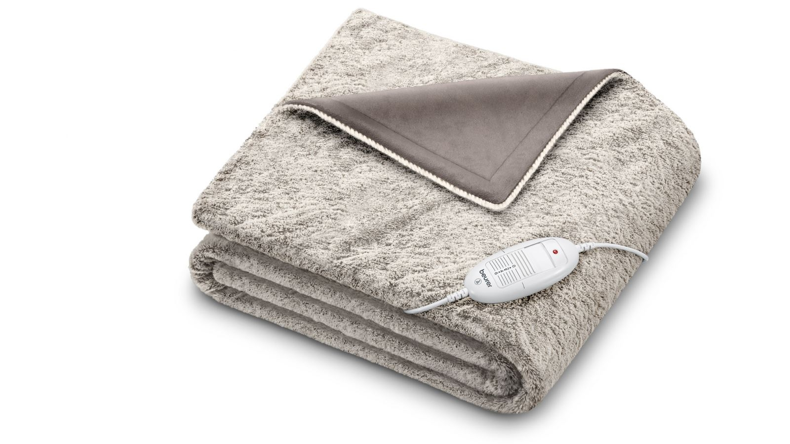 Image of Beurer Super Cosy Heated Throw - Toffee