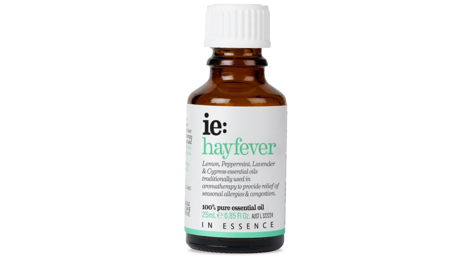 Image of In Essence 25ml Hayfever Essential Oil Blend