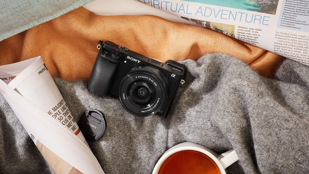 Sony A6000 Mirrorless Camera with 16-50mm Lens Kit