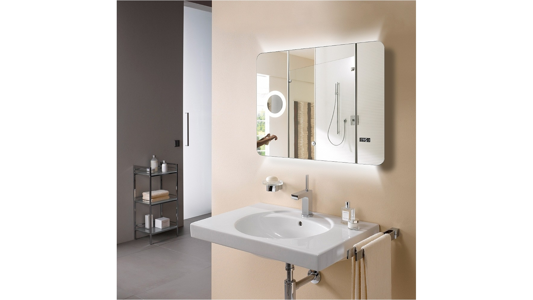 Buy Arcisan Eneo 900mm LED Mirror | Harvey Norman AU