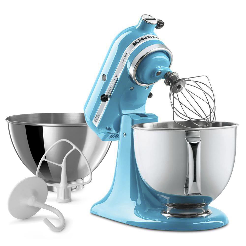 Buy KitchenAid KSM160 Artisan Stand Mixer - Crystal Blue   Harvey ...