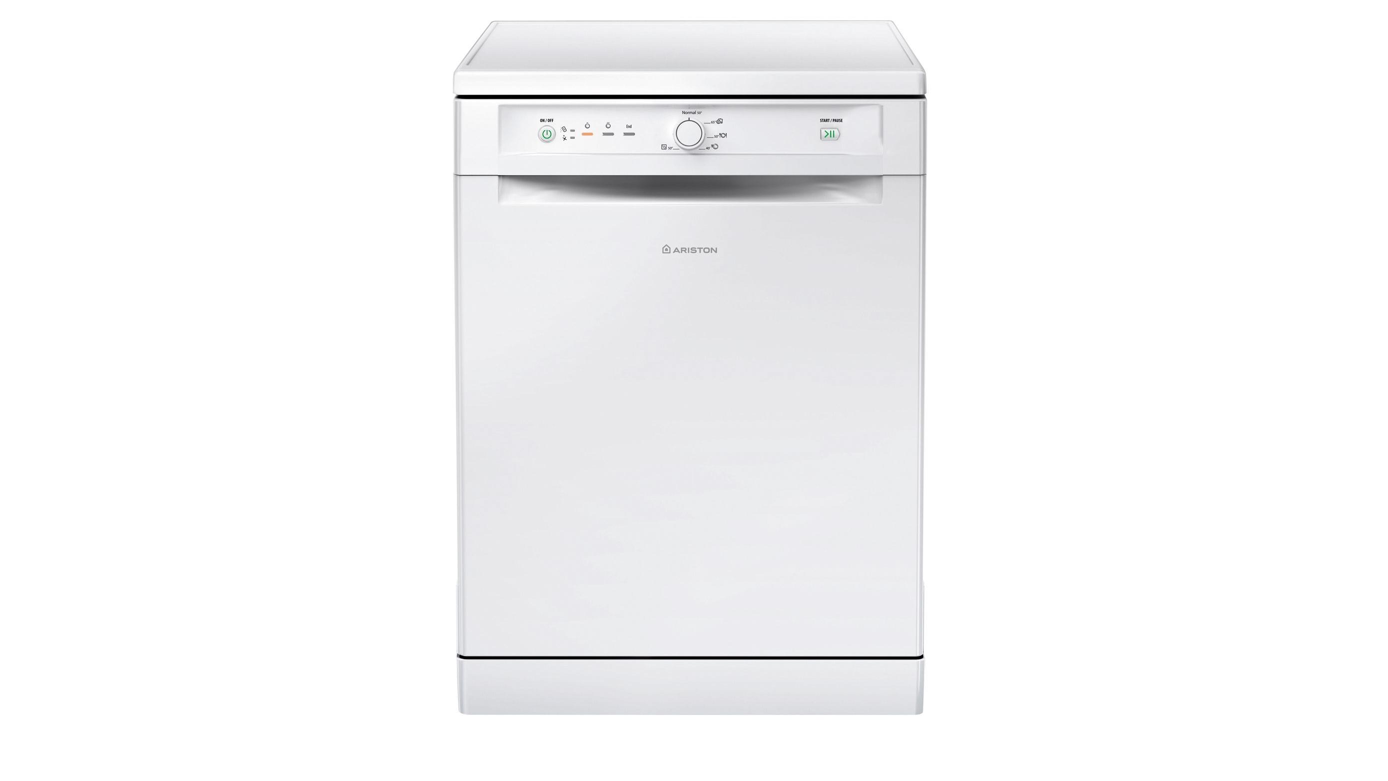 Buy Ariston 60cm LFB5M019 Freestanding Dishwasher - White   Harvey ...