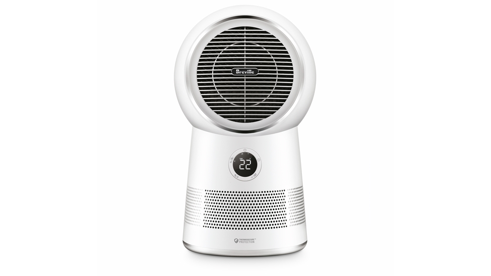 Image of Breville the AirRounder Connect Heater, Fan and Purifier - White