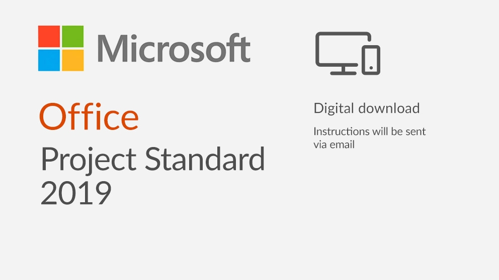 Microsoft Project Standard 2017 For Sale