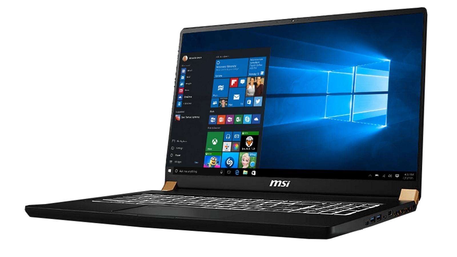 Buy Msi Workstation 17 3 Inch I7 32gb 1tb Ssd Laptop Black Harvey Norman Au